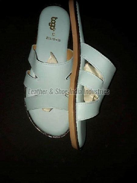 Ladies White Casual Sandal