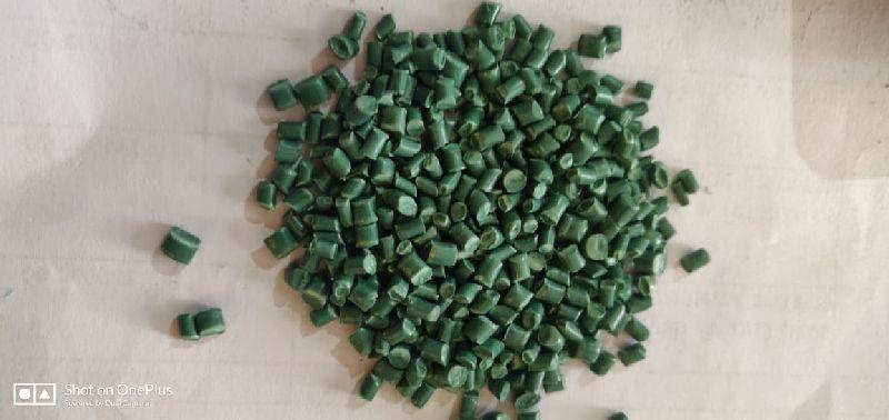 Green Raffia Plastic Granules