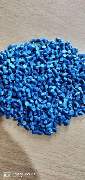Milky Blue PP Plastic Granules