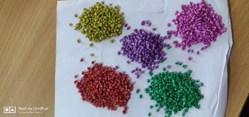 Milky Mixed PP Plastic Granules
