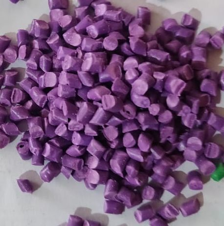 Milky Purple PP Plastic Granules