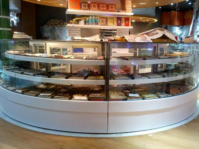 Sweet Shop Display Counter