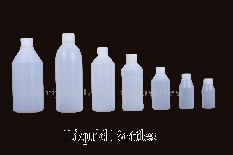 Plastic Liquid Bottles