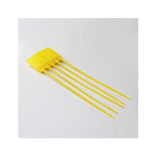 Yellow Polypropylene Strap Locks