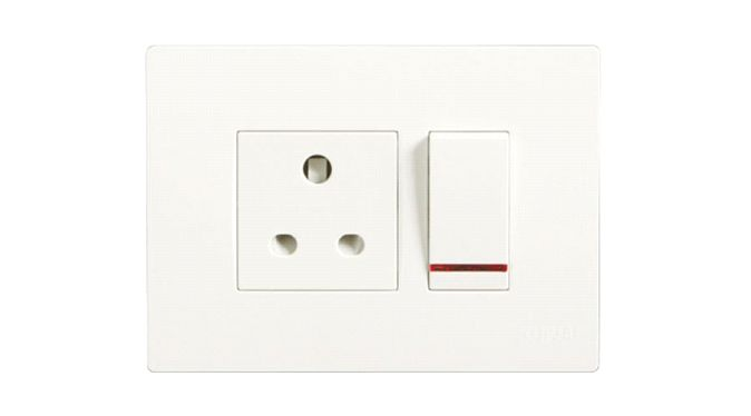 Opale – Switches with Satin finish
