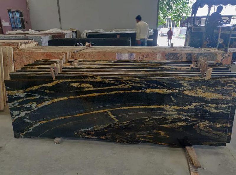 Brazilian Gold Granite Slabs