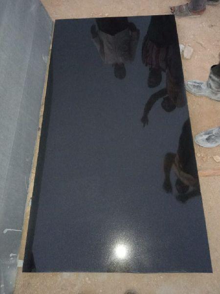 Jet Black Granite Slabs