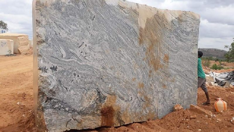 White Rough Granite Blocks