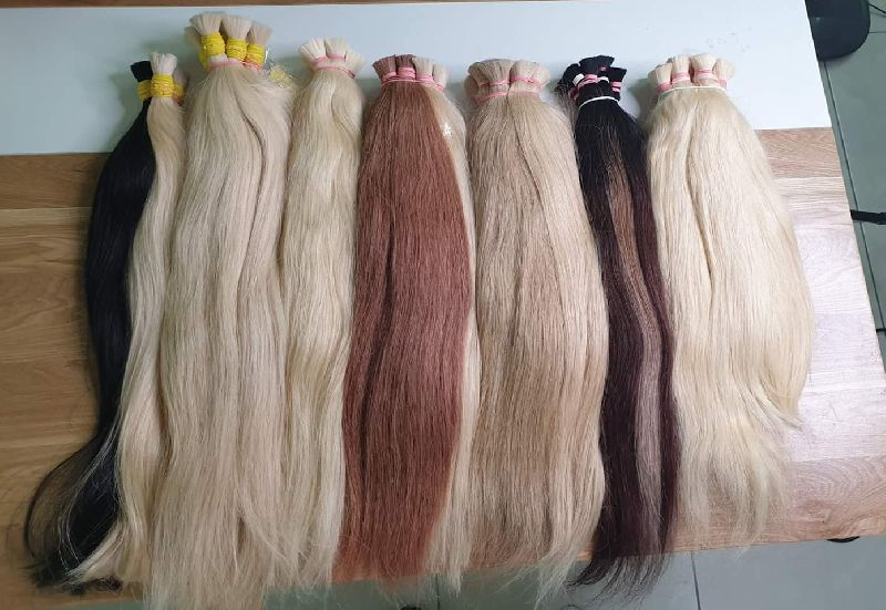 Bulk Colored Remy Hair