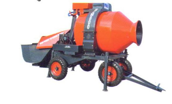 RCE 800 E Reversible Concrete Mixer