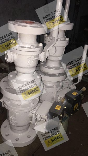 Marck & Care (MNC) Trunnion Mounted Ball Valve