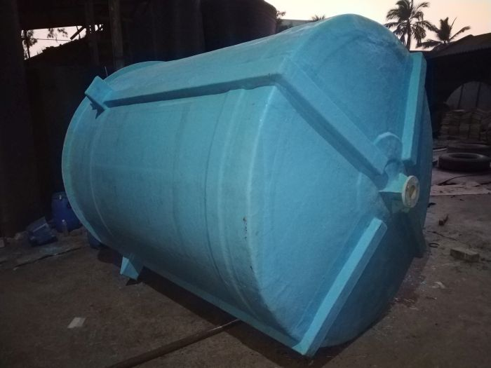 Cylindrical Vertical PP-FRP Tank