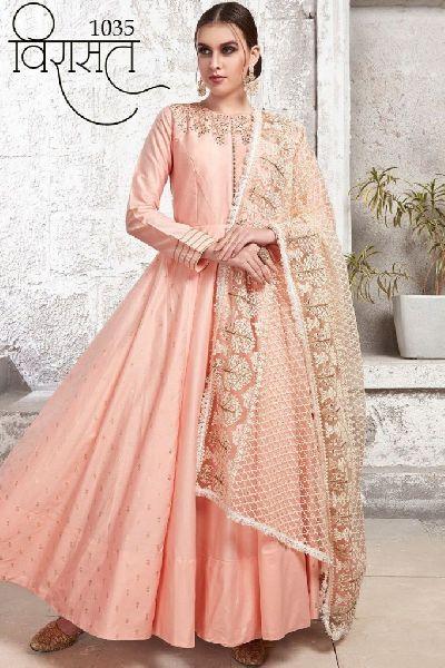 Designer Gown Salwar Suits