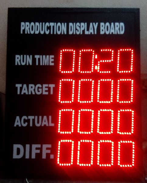 Production LED Display Boards