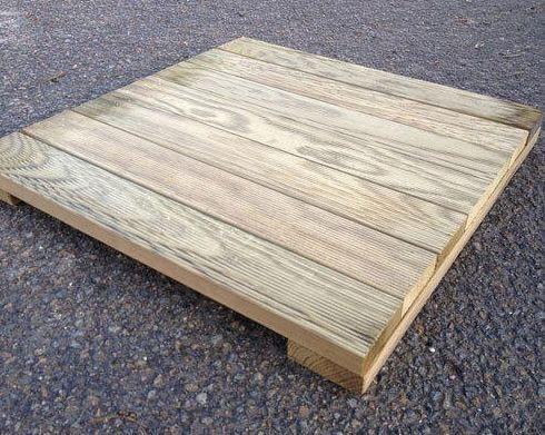 Found Wooden Pallet