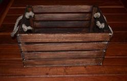 Wood Plank Crates