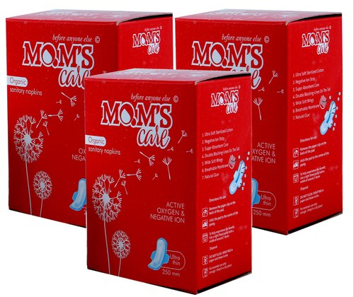 Moms Care Xl Size Sanitary Napkins