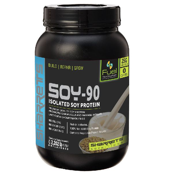 Unflavored Soy Protein Powder