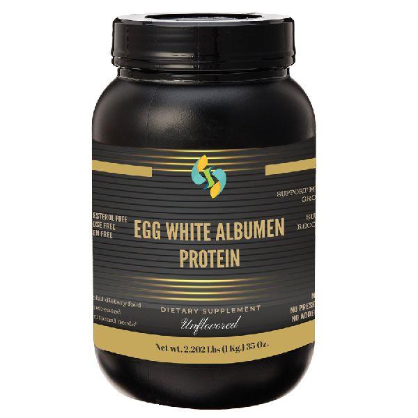 Unflavoured Albumen Egg White Protein Powder