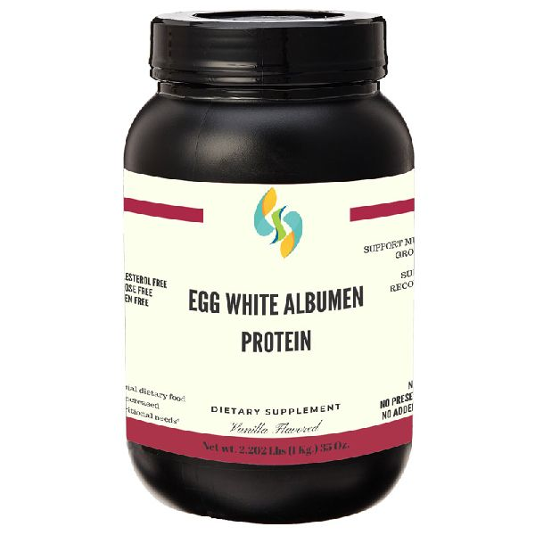 Vanilla Albumen Egg White Protein Powder