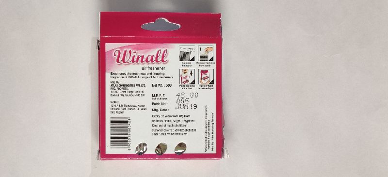 Winall French Lavender Air Freshener (50 gm)