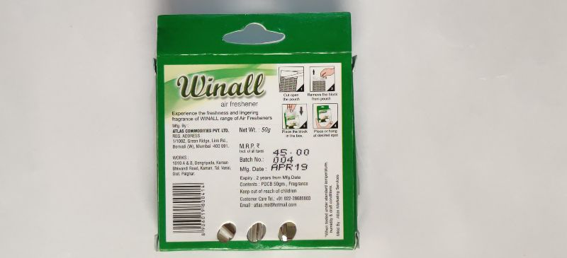 Winall Jasmine Bliss Air Freshener (50 gm)
