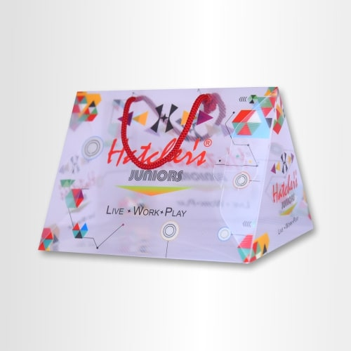 PP Printed Transparent Packaging Box For Kids Shirts Or T-shirts