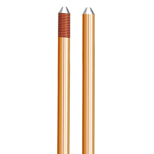 UL Listed 250 Micron Copper Bonded Earth Rod
