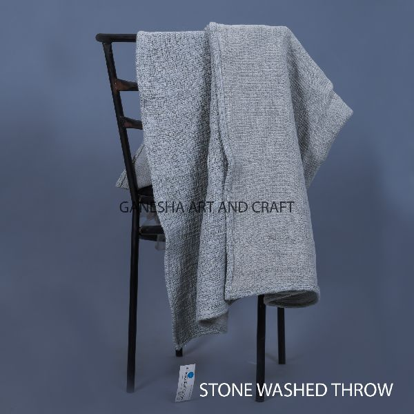 Light Gray Baby Throw Blankets