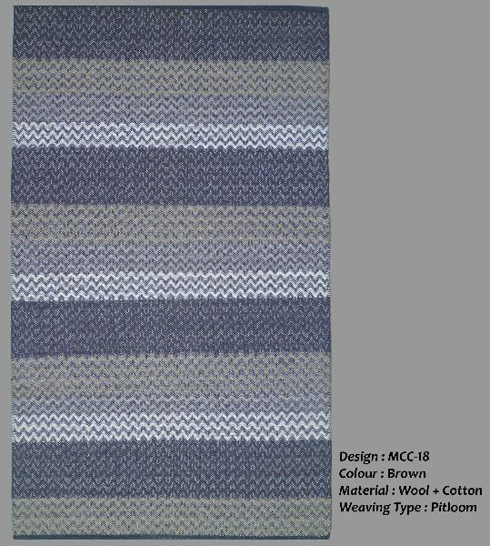 Woven Pit Loom Durries