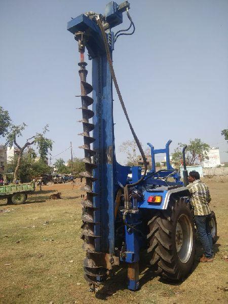 Tractor Piling Machine Manufacturer Supplier in Vidisha India