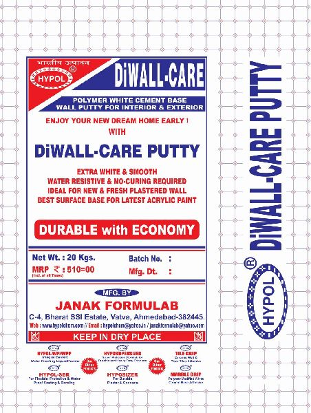 Diwall Care Wall Putty