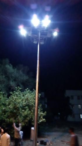 Solar High Mast Light Tower