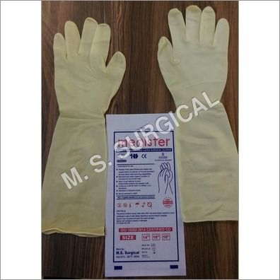 18 Inch Latex Elbow Length Gloves