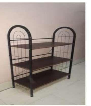 3 Shelf Wooden Shoe Rack