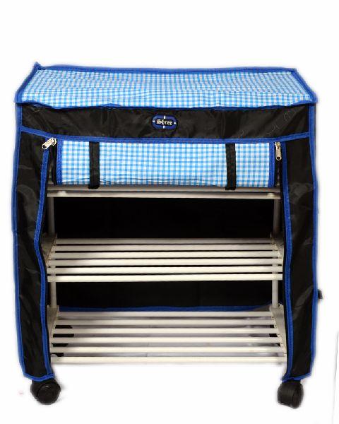 3 Shelf Cover Shoe Rack