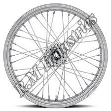 Motorcycle Spoke Wheel Rim 01