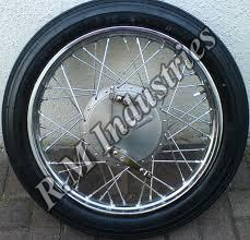 Motorcycle Spoke Wheel Rim 02