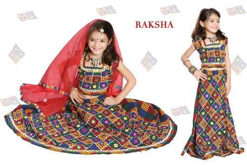 Raksha Girls Cotton Chaniya Choli