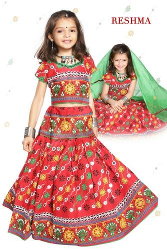 Reshma Girls Cotton Chaniya Choli
