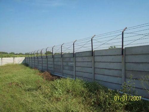 Precast Concrete Security Wall