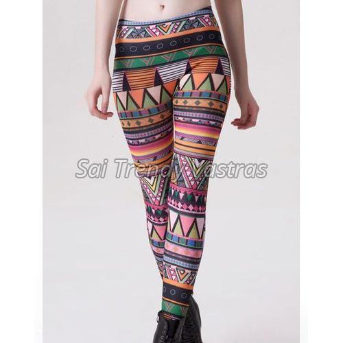 Ladies Printed Legging