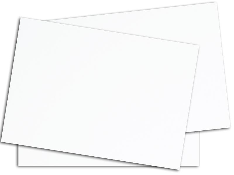 White Opaque Paper