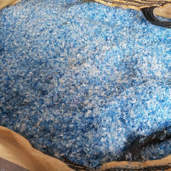Blue PET Flakes
