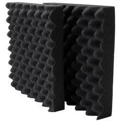 Black Sheela PU Foam for Engine Testing Room