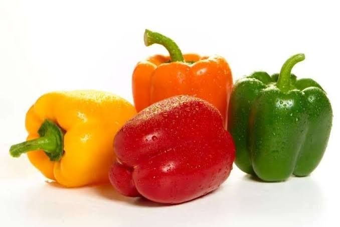 Fresh Coloured Capsicum