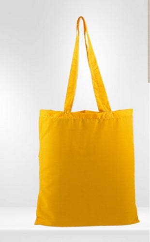 Yellow Canvas Bag
