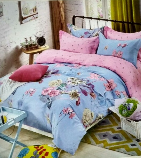 Cotton Printed Bed Sheet 01