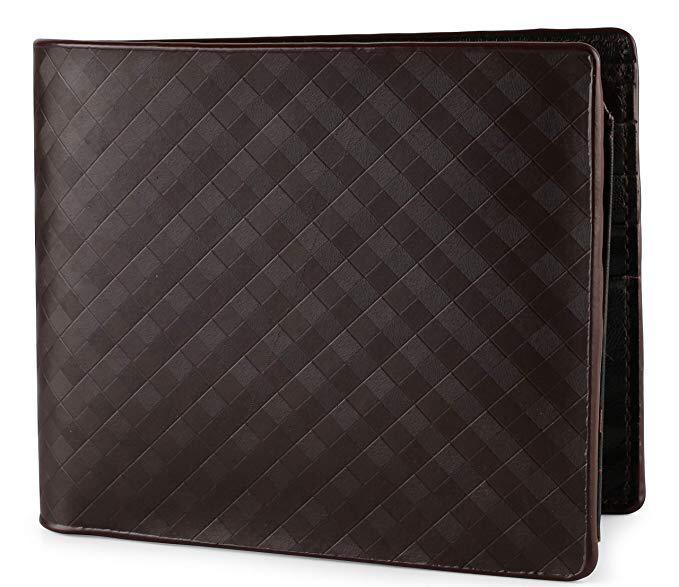 Mens Italian Leather Black Wallet