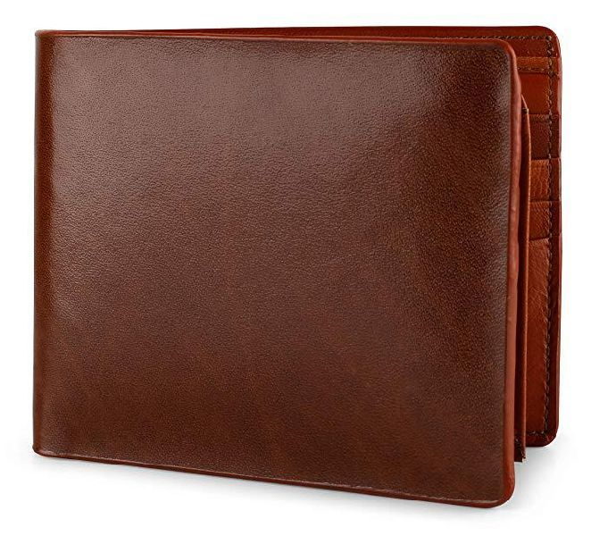 Mens Italian Leather Brown Wallet
